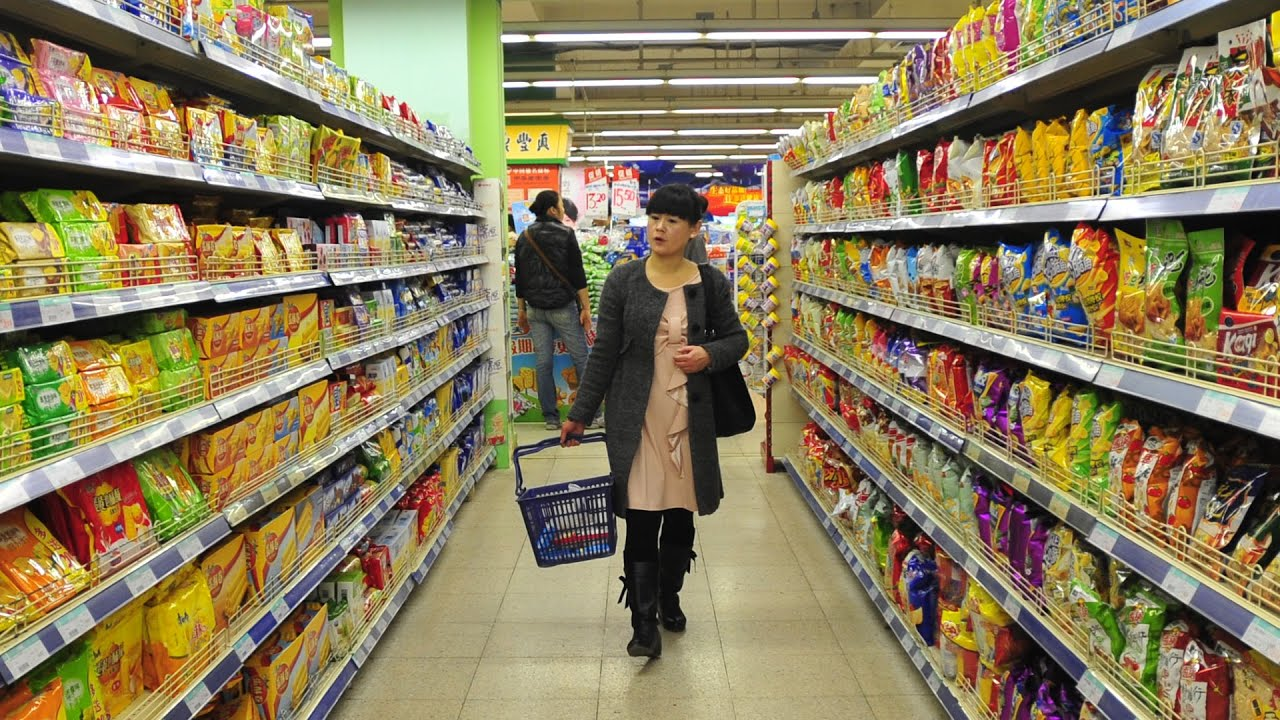 10 Things You Will Find in Every Chinese Supermarket - YouTube