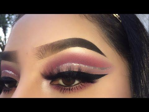 Silver Pink Cut Crease | ABH Renaissance Palette