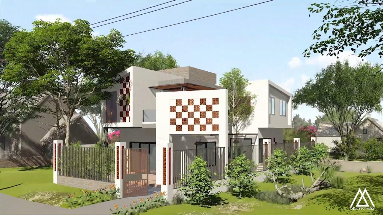 5AArchitects (5A) – Biệt thự 2 tầng hiện đại – Thiết kế thi công