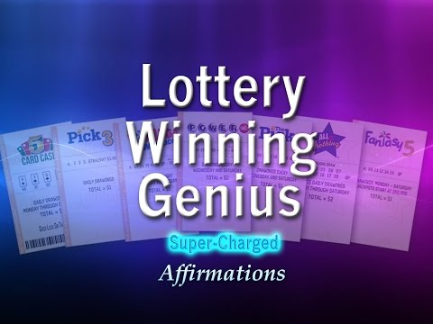 Lottery Winning Genius - Lady Luck Showers Down on Me - Super-Charged Affirmations