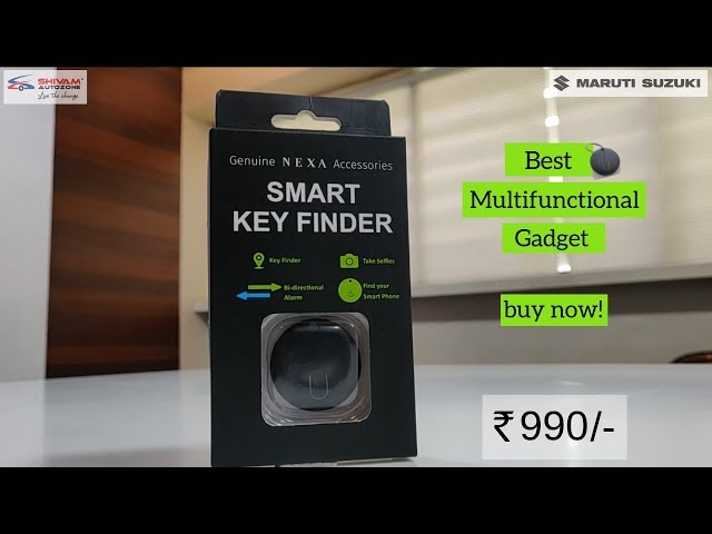 Maruti Suzuki Smart Key Finder | UnBoxing | Shivam Autozone