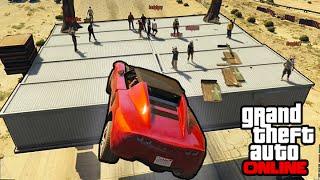 GTA V Online - ps4 - Stunting Fails & Flying Cars!