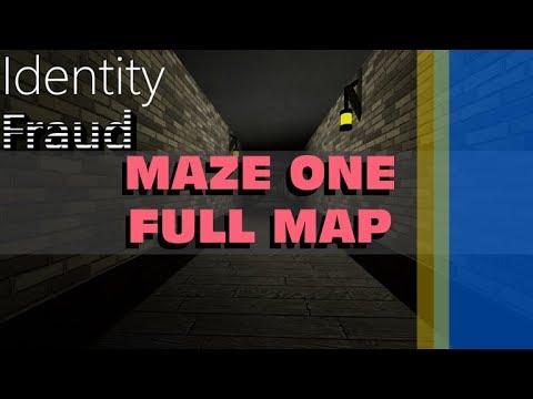 Identity Fraud Maze One Map Roblox Youtube