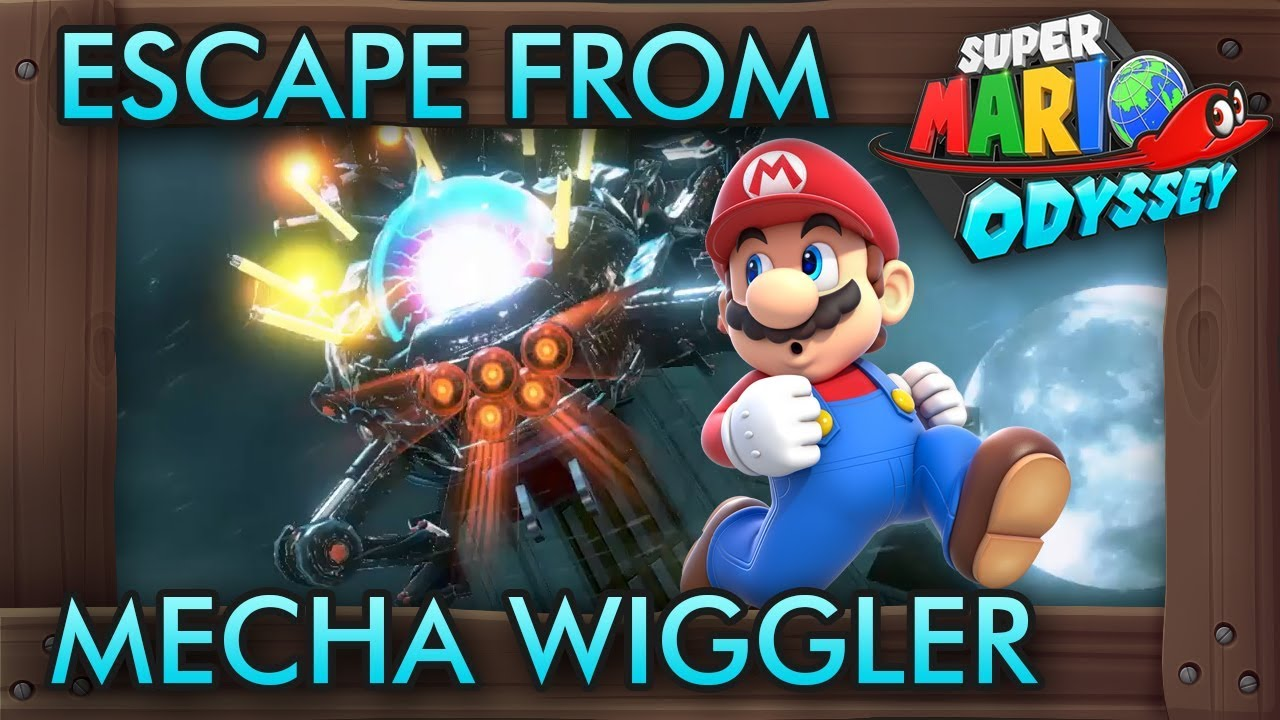 What If You Escape From Mecha Wiggler In Super Mario Odyssey