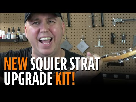 Phil McKnight Shows Off Our New Squier Stratocaster Hardware Upgrade Kit
