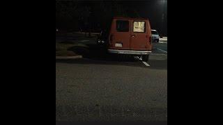 Creepy stalker in a van watching young girl! #1