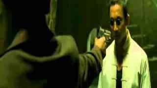enter the matrix ballard vs seraph fight scene