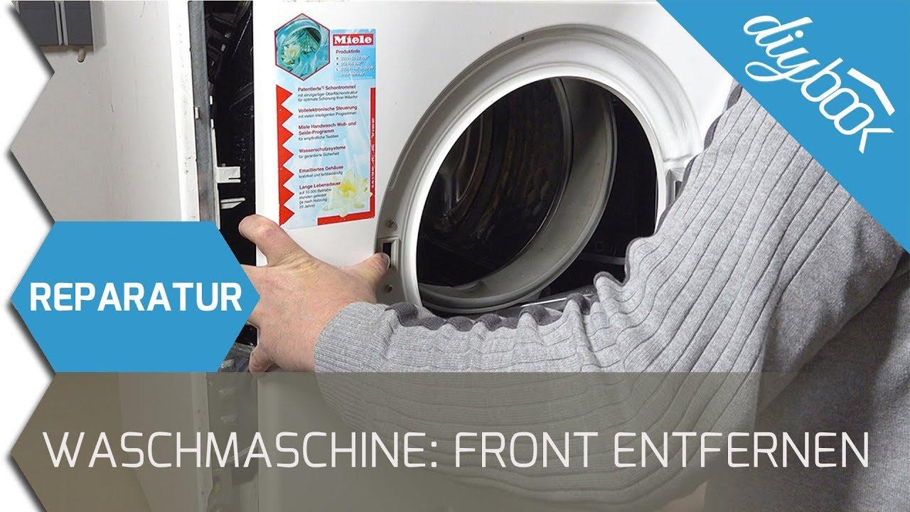 Super Front bei einer Miele Waschmaschine entfernen - YouTube SZ11