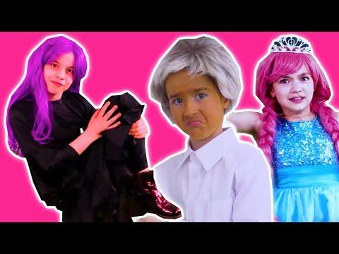 PRINCESS DANCE COMPETITION PRANKS 💃 Zuzaa's Got Talent! - Princesses In Real Life   Kiddyzuzaa
