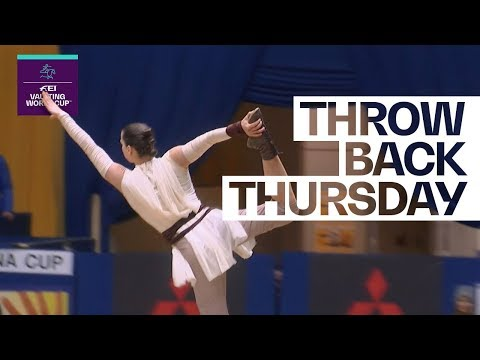 Kristina Boe's first World Cup title in 2018 #Throwback | FEI Vaulting World Cup™