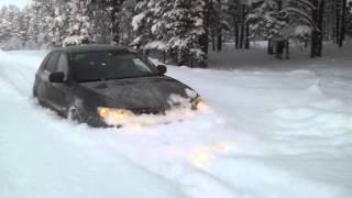 subaru impreza snow субару снег