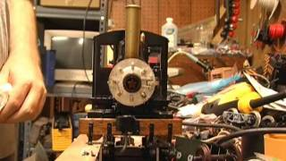 Live Steam Whistle Test, DJB Engineering Whistle, Accucraft Ruby