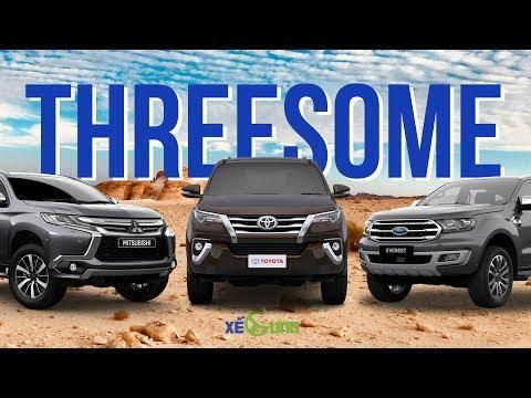 Xe 7 Chỗ Máy Dầu đối đầu: Chọn Toyota Fortuner, Mitsubishi Pajero Sport Hay Ford Everest? | Xế Cưng