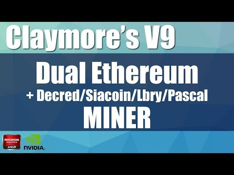 Claymore´s Dual Miner Ethereum V9.4 Radeon RX 480 Bios Mod Overclock Memory