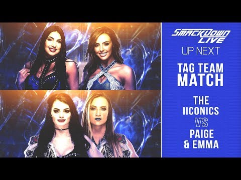 WWE 2K19 Universe Mode  - SDL - The IICONICS V Paige & Emma - Tensions Are Growing Between IICONICS