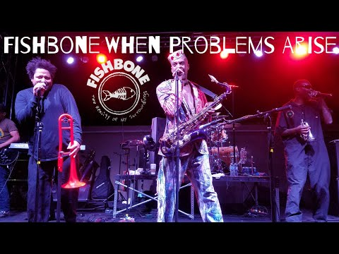 Fishbone (Original 80's-90's Lineup) - When Problems Arise Live at the BLK 3/23/18