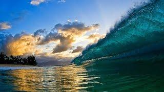 Обское море большие волны