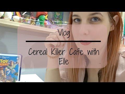 Vlog | Blonde Elle and Cereal Killer Cafe Birmingham