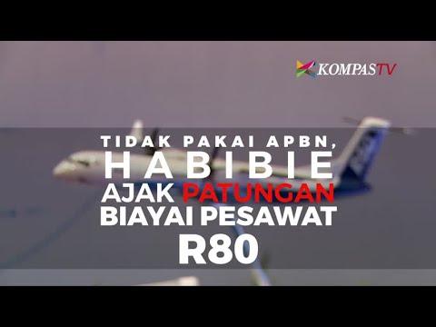 Habibie Ajak Patungan Biayai Pesawat R80