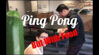 How to Play Ping Pong with Food (gone wrong) (022)