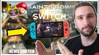 GTA-LIKE sur SWITCH, SAINTS ROW chez NINTENDO ! (& news switch : Grandia, Diablo, Gear Club 2)