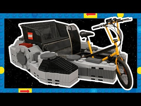 """Lego giving Millennium Falcon pedicab rides for Star Wars DaY.            """"mAY THE FOURTH"""""""