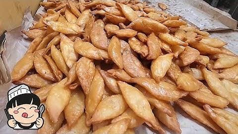 하루 7000개 파는 튀김 만두 (야끼 만두) / Fried Dumplings, Korean street food