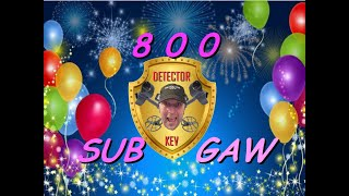 800 Subscriber GAW Announcement (Please Share)