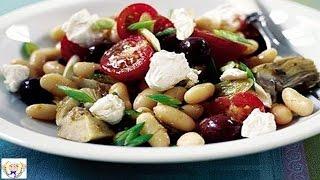 Mediterranean Style Bean Salad