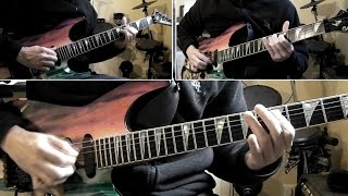 Iron Maiden - The Great Unknown guitar cover with tabs (and some surprise!)