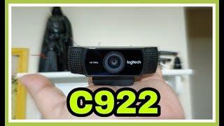 Unboxing Webcam C922 da Logitech