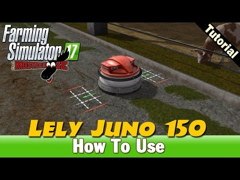 Farming Simulator 17 | How To Use The Lely Juno 150