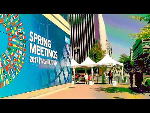 Capitol Intel video tour of IMF World Bank Spring Meetings #IMFWorldbank