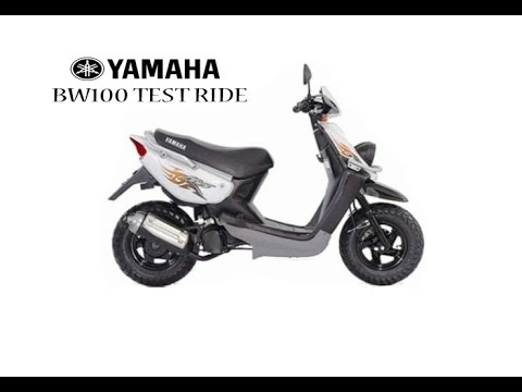 Yamaha BWS100 - YouTube