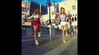 Шафл танец девушки (Shuffle Dance)