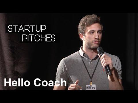 Hello Coach - Startup Pitch @TechCrunch Meetup Berlin