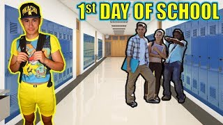 WEARING EMBARRASSING POKEMON OUTFIT ON FIRST DAY OF SCHOOL!