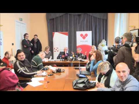 Judith Reisman - Zagreb - konferencija za novinare