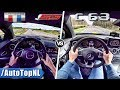 Mercedes C63 AMG Coupe vs Chevrolet Camaro SS | ACCELERATION TOP SPEED & SOUND by AutoTopNL