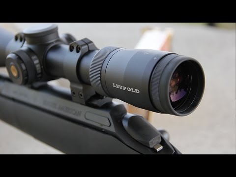 Review leupold vx mm riflescope youtube