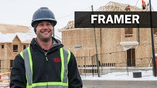 Job Talks - House Framer - James Explains How he Came to Run his Own Business