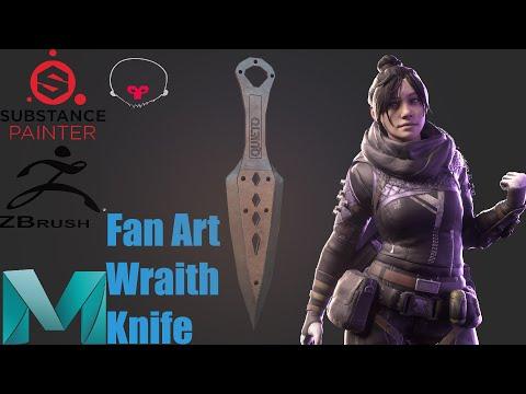 Making A Wraith Knife Fan Art