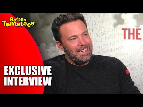 Ben Affleck is a Truck-Jumping Wonder - Exclusive 'The Accountant' Interview (2016)