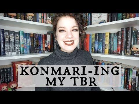 Konmari-ing My TBR | Unhauling Books!