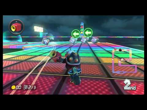Mario Kart 8 - 200cc SNES Rainbow Road