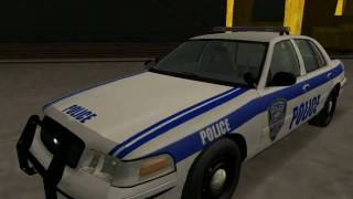Ford Crown Victoria New York / New Jersey Port Authority Police for GTA SA