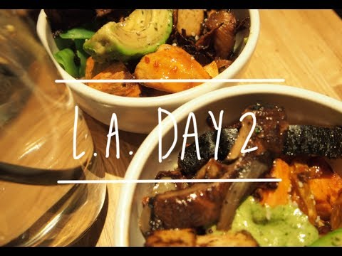 L.A. Day 2 // CalPoly Pomona & UCI & the Loop Churros