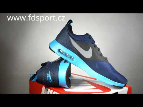 Air Max Tavas Blue And White