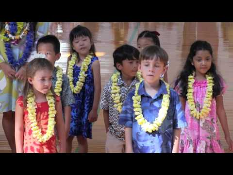 2016 Punahou School K-2 May Day Program (April 29, 2016)