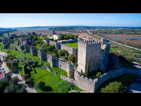 Montemor-o-Velho Castle aerial view - 4K Ultra HD